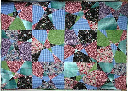 Crazy Star quilt